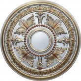 Ceiling Medallions: MD-9049 Fall Pewter Ceiling Medallion