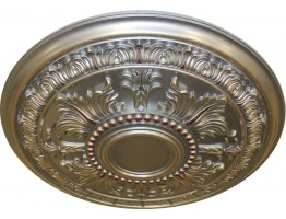 Ceiling Designs  - MD-9049 Fall Pewter Ceiling Medallion