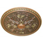 Ceiling Medallions: MD-9062 Oil Rubbed Copper Ceiling Medallion