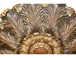 Ceiling Designs  - MD-9101 Oil Rubbed Copper Ceiling Medallion