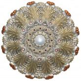 Ceiling Medallions: MD-9101 Fall Pewter Ceiling Medallion