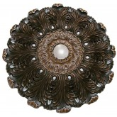 Ceiling Medallions: MD-9101 Oil Rubbed Silver Ceiling Medallion