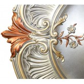 Ceiling Medallions: MD-9114 Fall Pewter Ceiling Medallion