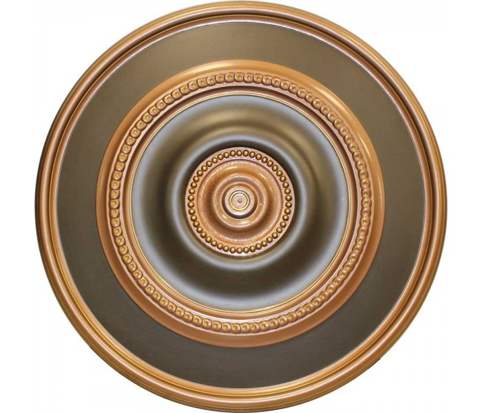 Ceiling Medallions: MD-9153 Oil Rubbed Copper Ceiling Medallion