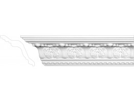 Crown Molding - Plastic Crown Moluding Manufactured with a Dense Architectural Polyurethane Compound. CM-2021 Crown Molding