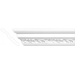 Crown Molding 4 11/16 inch Manufactured with a Dense Architectural Polyurethane Compound CM 2093