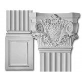 Flat Column Set: Corinthian Flat Column Set