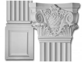Corinthian Flat Column Set