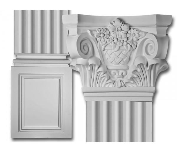 Flat Column Set: Corinthian Flat Column Set