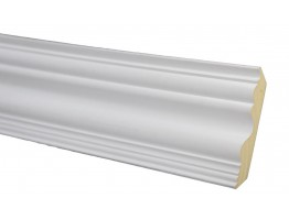 Crown Molding - Plastic Crown Moluding Manufactured with a Dense Architectural Polyurethane Compound. CM-1001 Flex Crown Molding