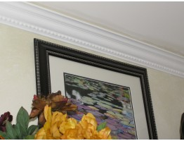 Crown Molding - Plastic Crown Moluding Manufactured with a Dense Architectural Polyurethane Compound. CM-1020 Crown Molding