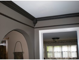 Crown Molding 3 inch Manufactured with a Dense Architectural Polyurethane Compound