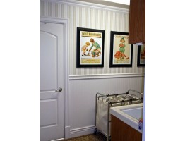 Crown Molding - Plastic Crown Moluding Manufactured with a Dense Architectural Polyurethane Compound. CM-1027 Crown Molding