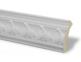 Crown Molding - Plastic Crown Moluding Manufactured with a Dense Architectural Polyurethane Compound. CM-1033 Crown Molding