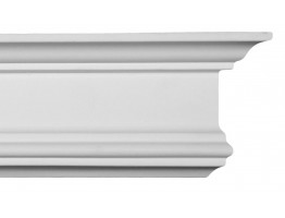 Crown Molding - Plastic Crown Moluding Manufactured with a Dense Architectural Polyurethane Compound. CM-1040 Crown Molding