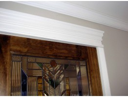Crown Molding 4 inch Manufactured with a Dense Architectural Polyurethane Compound CM 1040