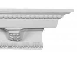 Crown Molding - Plastic Crown Moluding Manufactured with a Dense Architectural Polyurethane Compound. CM-1046 Crown Molding
