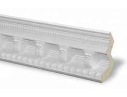 Crown Molding - Plastic Crown Moluding Manufactured with a Dense Architectural Polyurethane Compound. CM-1047 Crown Molding