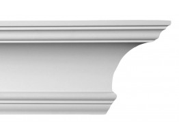 Crown Molding - Plastic Crown Moluding Manufactured with a Dense Architectural Polyurethane Compound. CM-1053 Crown Molding