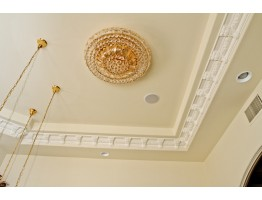 Crown Molding 5 1/4 inch Manufactured with a Dense Architectural Polyurethane Compound
