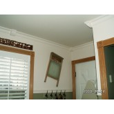 Crown Molding - Plastic Crown Moluding Manufactured with a Dense Architectural Polyurethane Compound. CM-1066 Crown Molding