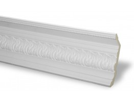 Crown Molding - Plastic Crown Moluding Manufactured with a Dense Architectural Polyurethane Compound. CM-1072 Crown Molding