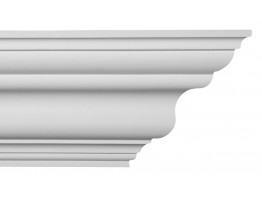 Crown Molding - Plastic Crown Moluding Manufactured with a Dense Architectural Polyurethane Compound. CM-1079 Crown Molding