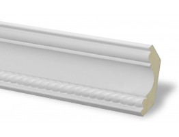 Crown Molding - Plastic Crown Moluding Manufactured with a Dense Architectural Polyurethane Compound. CM-1085 Crown Molding