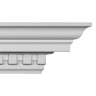 Crown Molding 3 1/2 inch Manufactured with a Dense Architectural Polyurethane Compound CM 1098