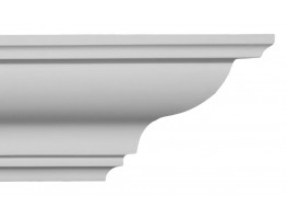 Crown Molding - Plastic Crown Moluding Manufactured with a Dense Architectural Polyurethane Compound. CM-1105 Crown Molding