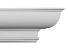 Crown Molding - Plastic Crown Moluding Manufactured with a Dense Architectural Polyurethane Compound. CM-1118 Crown Molding