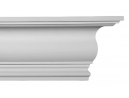 Crown Molding - Plastic Crown Moluding Manufactured with a Dense Architectural Polyurethane Compound. CM-1131 Crown Molding