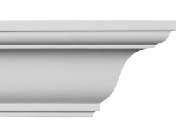 Crown Molding - Plastic Crown Moluding Manufactured with a Dense Architectural Polyurethane Compound. CM-1157 Crown Molding