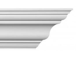 Crown Molding - Plastic Crown Moluding Manufactured with a Dense Architectural Polyurethane Compound. CM-1183 Crown Molding