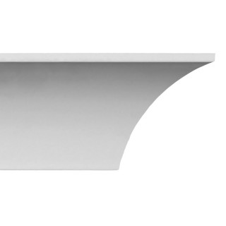 Crown Molding 2 1/2 inch Manufactured with a Dense Architectural Polyurethane Compound CM 1209