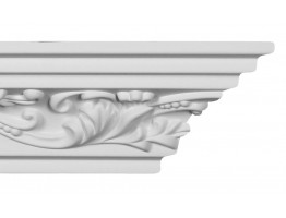 Crown Molding - Plastic Crown Moluding Manufactured with a Dense Architectural Polyurethane Compound. CM-1215 Crown Molding