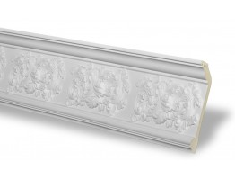 Crown Molding - Plastic Crown Moluding Manufactured with a Dense Architectural Polyurethane Compound. CM-1241 Crown Molding