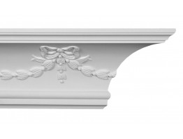 Crown Molding - Plastic Crown Moluding Manufactured with a Dense Architectural Polyurethane Compound. CM-1261 Crown Molding
