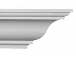 Crown Molding - Plastic Crown Moluding Manufactured with a Dense Architectural Polyurethane Compound. CM-1267 Crown Molding