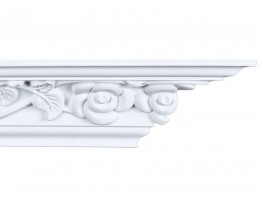 Crown Molding - Plastic Crown Moluding Manufactured with a Dense Architectural Polyurethane Compound. CM-1274 Crown Molding