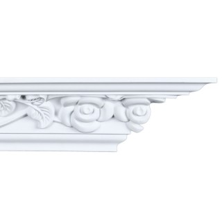 Crown Molding 3 1/8 inch Manufactured with a Dense Architectural Polyurethane Compound CM 1274
