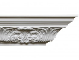 Crown Molding 3.75 inch Manufactured with a Dense Architectural Polyurethane Compound CM 1280 Crown Molding