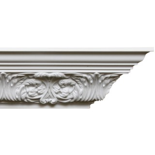 Crown Molding 3 3/4 inch Manufactured with a Dense Architectural Polyurethane Compound CM 1280