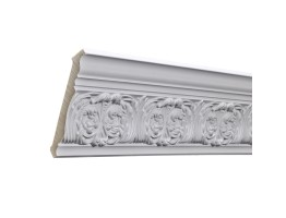 Crown Molding - Plastic Crown Moluding Manufactured with a Dense Architectural Polyurethane Compound. CM-1280 Crown Molding