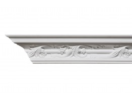 Crown Molding - Plastic Crown Moluding Manufactured with a Dense Architectural Polyurethane Compound. DSC-1287 Crown Molding