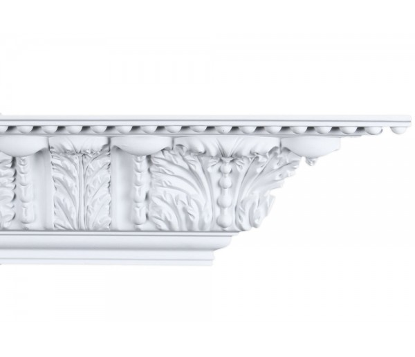 Crown Molding - Plastic Crown Moluding Manufactured with a Dense Architectural Polyurethane Compound. CM-1293 Crown Molding
