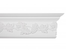 Crown Molding - Plastic Crown Moluding Manufactured with a Dense Architectural Polyurethane Compound. CM-1313 Crown Molding