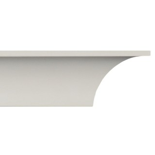 Crown Molding 2 inch Manufactured with a Dense Architectural Polyurethane Compound CM 2002