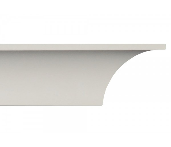 Crown Molding - Plastic Crown Moluding Manufactured with a Dense Architectural Polyurethane Compound. CM-2002 Crown Molding