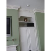 Crown Molding - Plastic Crown Moluding Manufactured with a Dense Architectural Polyurethane Compound. CM-2047 Crown Molding